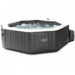 Spa Idromassaggio Gonfiabile 201x71 Cm Purespa Jet And Bubble Deluxe Intex 28458