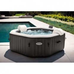 Spa Idromassaggio Gonfiabile 201x71 Cm Purespa Jet And Bubble Deluxe Intex 28458 | Piscinefuoriterraweb