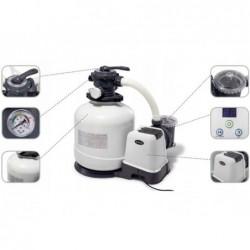 Pompa Filtro A Sabbia 6.000 L/H Con Clorinatore Ecosterilizzatore Salino Combo Intex 26676 | Piscinefuoriterraweb
