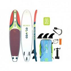 Tavola Stand Up Paddle Surf Coasto Air Surf 8 244x57 Cm. Poolstar Pb-Cairs8b   Piscinefuoriterraweb