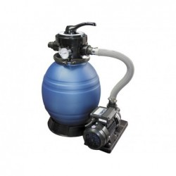 Filtro Sabbia Monobloc Modello 500 E Pompa 08 Hp