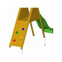 Rampa Scalata 119x61 Cm. Per Parco Giochi Masgames Ma700013 | Piscinefuoriterraweb