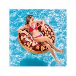 Ciambella Gonfiabile Intex 56262 Da 114 Cm Donut Cioccolato   Piscinefuoriterraweb