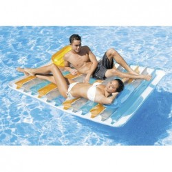Materassino Relax Piscina Doble Lounge 198x160 Cm | Piscinefuoriterraweb