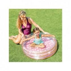 Piscina Baby Glitter 86x25 Cm Rosa Intex 57103   Piscinefuoriterraweb