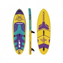 Tavola Paddle da Surf Stand Up Di Kohala Windsup 295x86x15 cm. Ociotrends KH29515 | Piscinefuoriterraweb