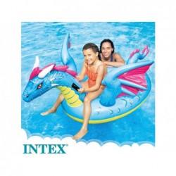 Dragón Hinchable de 201x191 cm Ride On Intex 57563 | PiscinasDesmontable