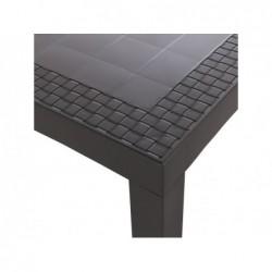 Tavolo da giardino modello Dream Wenge SP Berner 32118 | Piscinefuoriterraweb