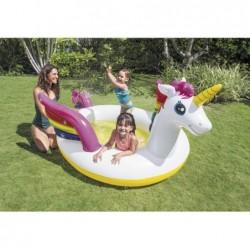 Piscina Kids Unicorno Con Spruzzino Intex 57441np 272x193x104 Cm    Piscinefuoriterraweb