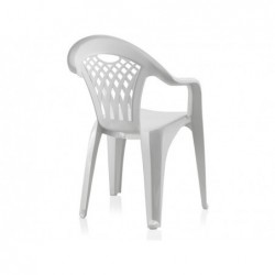 Sedia da giardino Cancun Bianco SP Berner 43027 | Piscinefuoriterraweb