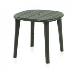 Tavolo da giardino modello Cancun 80 verde SP Berner 55356