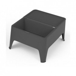 Muebles de Jardín Mesa Modelo Auxiliar Alaska Antracita SP Berner 55392   PiscinasDesmontable