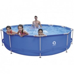 Piscina Smontabile con Filtro 1136 L. Jilong 17799EU Super Round Pool Set 360x76 cm. | Piscinefuoriterraweb