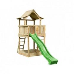 Parco Giochi Con Scivolo Pagoda Xl Masgames Ma802601