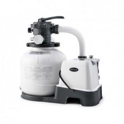 Pompa Filtro A Sabbia 6.000 L/H Con Clorinatore Ecosterilizzatore Salino Combo Intex 26676