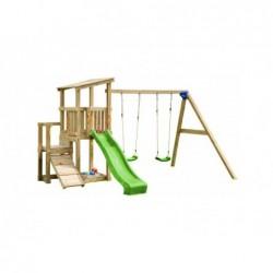Parco Giochi Con Altalena Doppia Cascade Masgames Ma811501