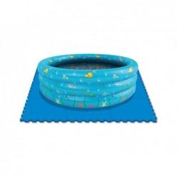 Suolo Di Protezione Per Piscine 9 Pezzi Da 50x50 Cm