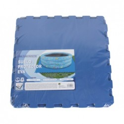Suolo Di Protezione Per Piscine 9 Pezzi Da 50x50 Cm   Piscinefuoriterraweb