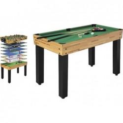 Tavolo Multigioco 12 in 1 Amatoriale 124x61x81 cm