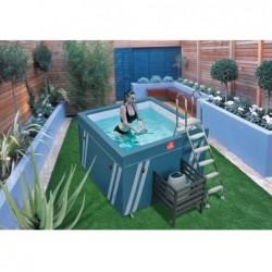 Piscina Mini Fit S Pool Per Aquafitness Da 128x184x184 Cm | Piscinefuoriterraweb