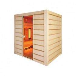 Sauna Hybrid A Infrarossi E Tradicional 190 Cm