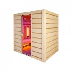 Sauna Hybrid A Infrarossi E Tradicional 190 Cm | Piscinefuoriterraweb