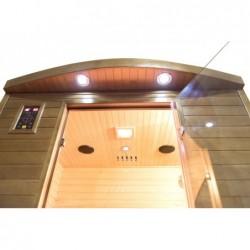 Sauna Infrarossi Spectra Da 2 Posti 200 Cm | Piscinefuoriterraweb