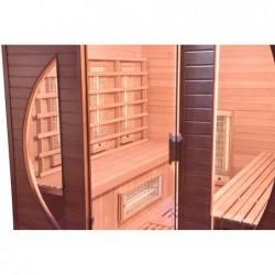 Sauna Infrarossi Spectra Da 4 Posti 200 Cm | Piscinefuoriterraweb