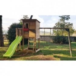 Parco Giochi Con Altalena Doppia Taga Masgames Ma700305